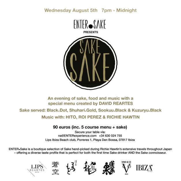 ENTER Sake Event - Facebook & Instagram